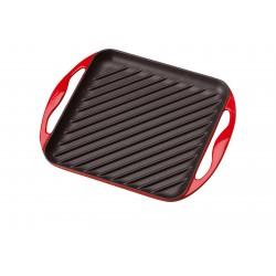 Vierkante Grillplaat Kersenrood - Le Creuset