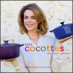 Livre Cocottes Andrieu - Le Creuset