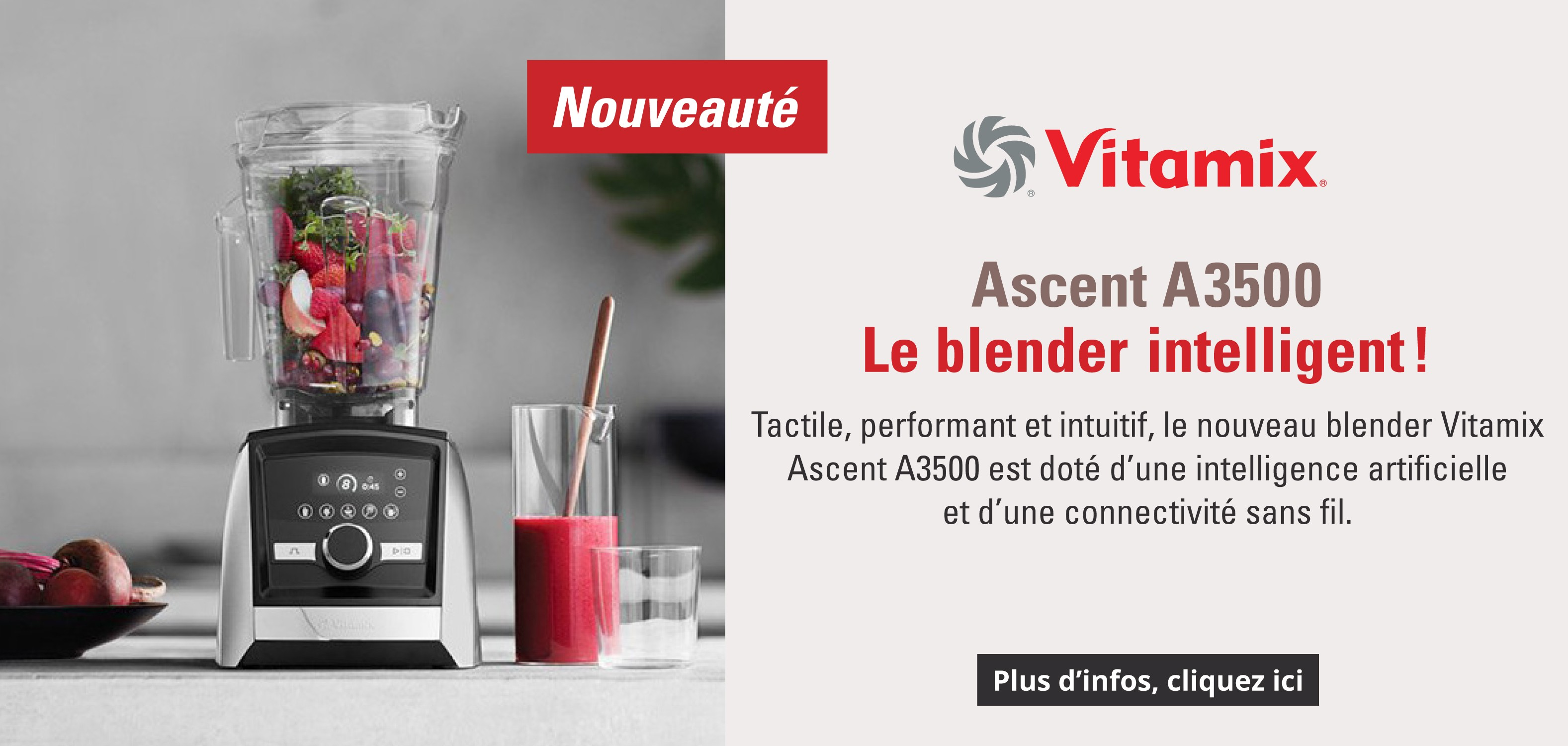 Blender Ascent A3500 Vitamix