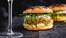 Burgers Végétariens aux Falafels et Guacamole