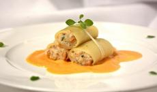 Cannelloni de légumes à la truffe