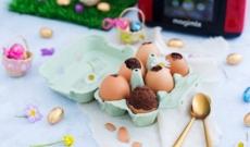 Egg Cake Brownie